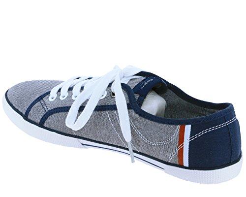Bleus Jeans Homme Basses Les Sneakers Pepe Aberman Court 0qOwFB