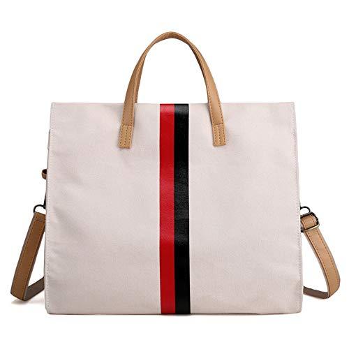 capacité à nouveau à main en bandoulière sac simple de grand grand Beige coréenne LANDONA sacs sac toile femmes Bag Messenger sac sac pFqxWWgwUB