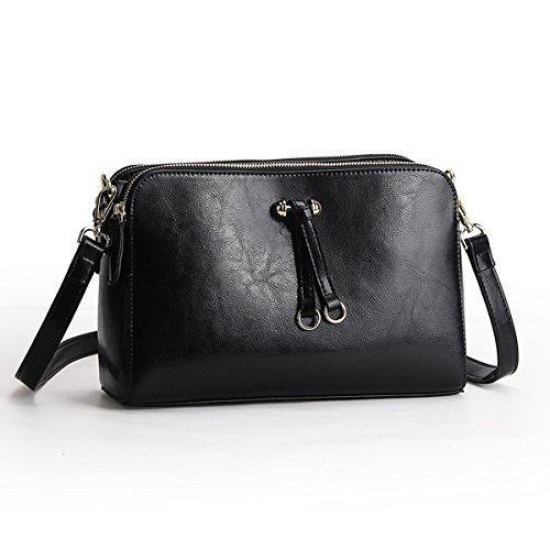 fashion Noir à épaule Sac 9091 LF femme cuir bandoulière Sac en portés Valin main Sac tT6XqxRtw