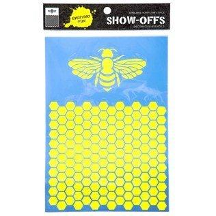 Bumblebee & Honeycomb Stencil ()