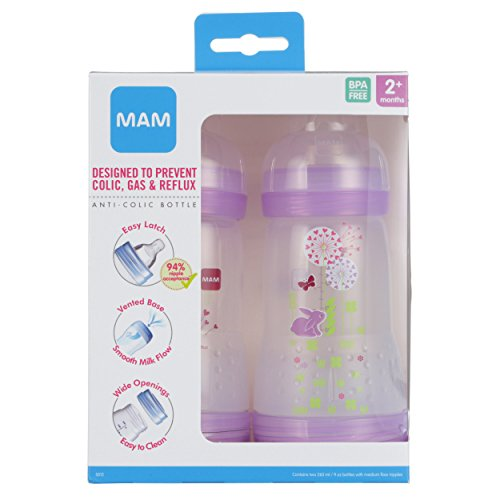 Mam Baby Bottles For Breastfed Babies Mam Baby Bottles