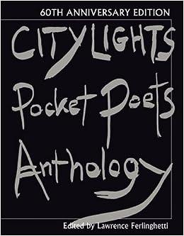 City Lights Pocket Poets Anthology: 60th Anniversary Edition (City Lights Pocket Poets Series)