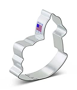 Ann Clark Rocking Horse Cookie Cutter - 3.75 Inches - Tin Plated Steel