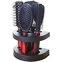 Healthcom Hairs Combs Salon Hairdressing Styling Tool Hair Cutting Brushes Sets Dressing Comb Kits,Set of 5