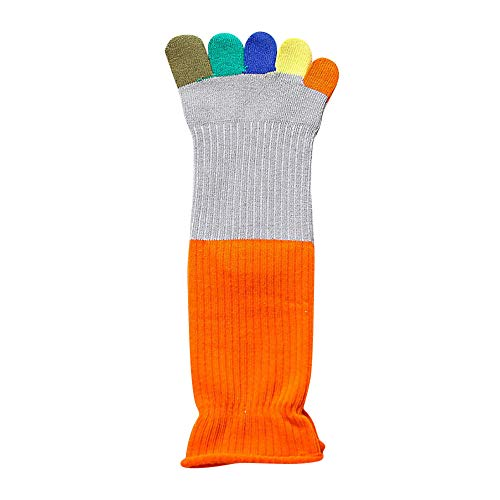 Five Finger Toe Socks,G-real Toddler Baby Girls New Cute Color finger color matching sweat to keep warm toe socks