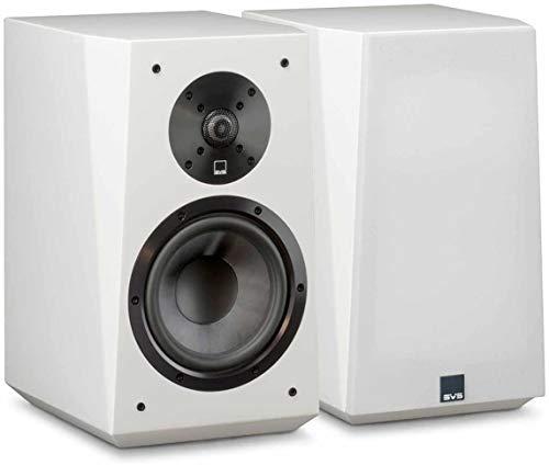 SVS Ultra Bookshelf Speakers (SVS Ultra Gloss White)