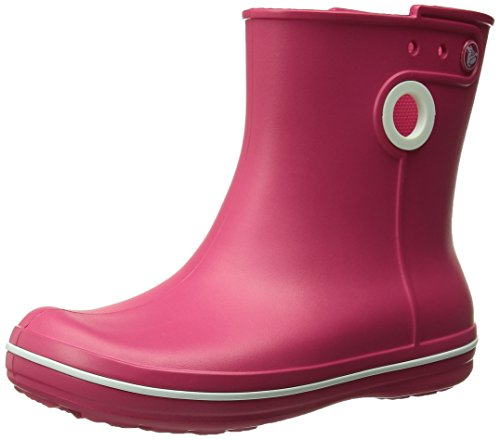 crocs Damen Jaunt Shorty Boot W Stiefel Rot (Raspberry)