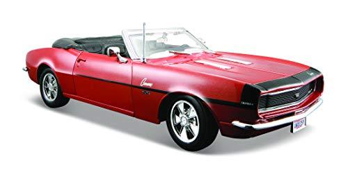 Maisto 1:24 Scale 1968 Chevy Camaro SS 396 Convertible Diecast Vehicle (Colors May Vary) (Diecast 1 24 Maisto)