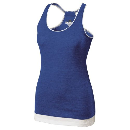 Holloway Juniors Pep Vintage Tank (Small, Vintage Royal/White) by Holloway