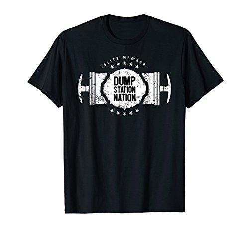 (Funny RV Dump Station Nation Camping T-Shirt)