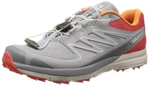 Salomon Womens Sense Mantra 2 W Trail-running Schoen Nectarine / Aluminium / Oranje Gevoel