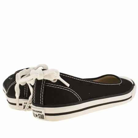 d7e04ba83a228a Converse All Star Dainty Ballerina - 6 Uk - Black   White - Fabric   Amazon.co.uk  Shoes   Bags