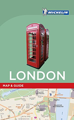 Michelin London Map & Guide (Michelin Map & Guide Series)