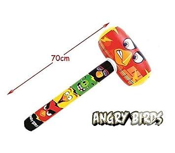 COOLMP Martillo Inflable Angry Birds 70 cm - Juegos, Juguete ...
