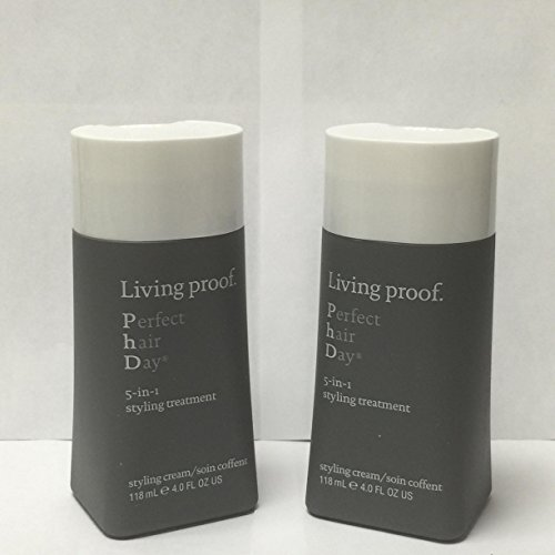 Living Proof Perfect Hair Day 5-in-1 Styling Treatment, 4 Ounce EACH (SET OF TWO) -