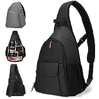 DSLR Camera Bag Waterproof Camera Sling Backpack with...