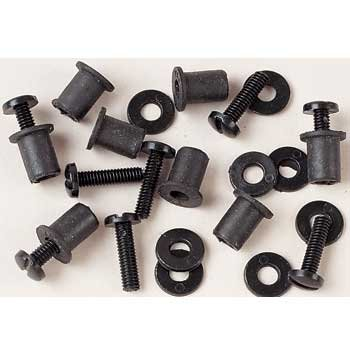 (LP USA Nylon Windscreen Screw Kit with Well Nuts)