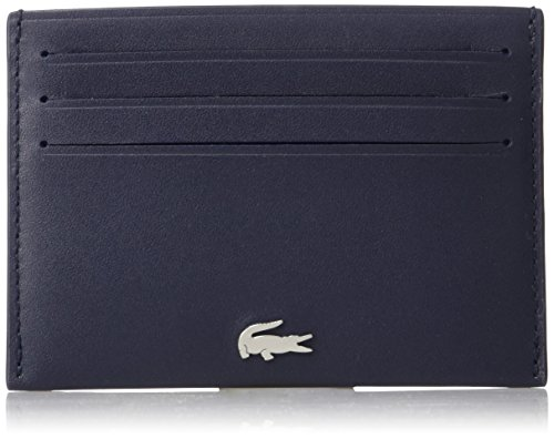 Lacoste Men's Fg Credit Card Holder, Peacoat, One Size by Lacoste (Image #1)