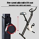 Grist-CC-Cyclette-da-Casa-Pieghevole-Indoor-Muto-Bicicletta-Cardio-Magnetico-Verticale-Bike-Stationary-Spin-Bike-con-Sensori-delle-Pulsazioni
