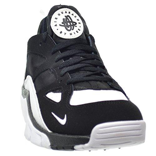e4800811d474 high-quality Nike Air Trainer Huarache Low Men s Shoes Black White-Black  749447