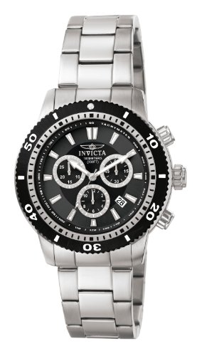 Invicta Men's 1203 II Collection Chronograph Stainless Steel Watch with Link Bracelet ()