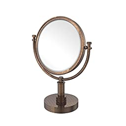 Allld|#Allied Brass DM-4D/3X-VB 8 Inch Vanity Top Make-Up Mirror 3x Magnification,