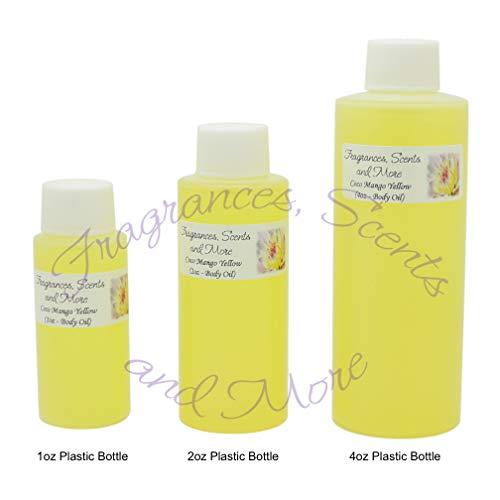 Coco Mango Yellow Perfume/Body Oil (7 Sizes) - Free Shipping (4oz Plastic Bottle (120ml))