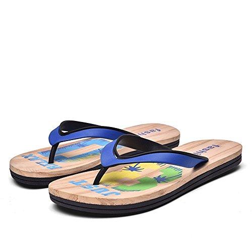 uomo Sapphire per Uomo da Dimensione EU Color da Sapphire Pantofola Sandali shoes infradito Xujw da 44 2018 Classic Blue spiaggia blue sandali qBWYxOqnR8
