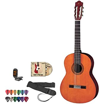 yamaha jf cgs102a kit 1 1 2 size acoustic electric guitar kit withtuner. Black Bedroom Furniture Sets. Home Design Ideas