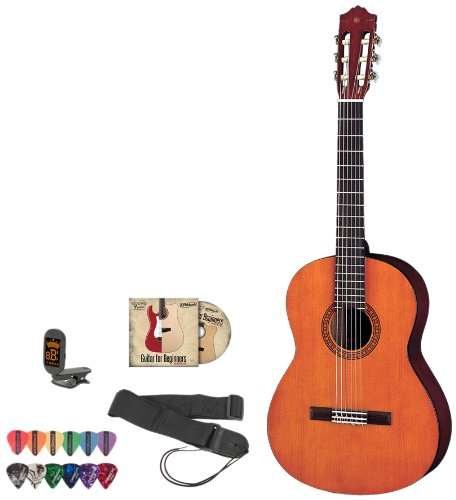 yamaha jf cgs102a kit 1 1 2 size acoustic electric guitar kit withtuner instructional dvd. Black Bedroom Furniture Sets. Home Design Ideas