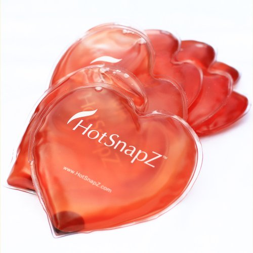 HotSnapZ Reusable Heart Reusable Hand Warmers by HotSnapZ