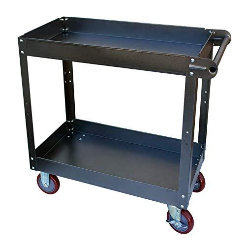 Industrial Steel Service Cart, 400 Lbs. Weight Capacity, 16