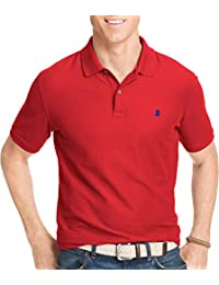 Mens Advantage Polo, REAL RED, S