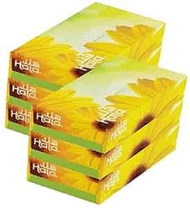 Hala Facial Tissue, 100 Sheets, 6 Packs