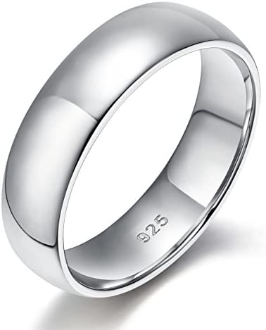 EAMTI Sterling Silver Wedding Comfort product image