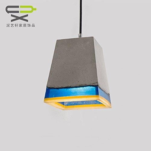 De Artisanat Four Ciment Rétro Llsb Lampe Industrie Vent Corners Yb7gyvf6