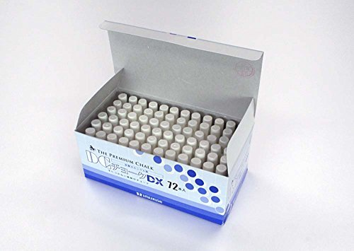 UMAJIRUSHI The Premium Chalk, DC Chalk DX 72pcs White, Made in Japan by Umajirushi