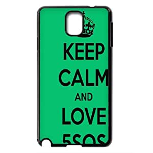 Rock band 5SOS Hard Plastic phone Case Cover For Samsung Galaxy NOTE3 Case Cover ART138574