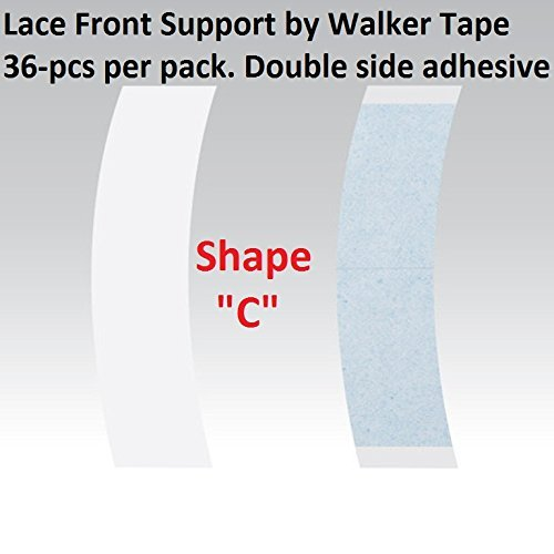 System Tape Hair (2-6 week hold C Contour Lace Front Adhesive Tape 36 Pieces)