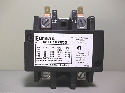 - Furnas 42EE107655 Definite Purpose Controller Series C