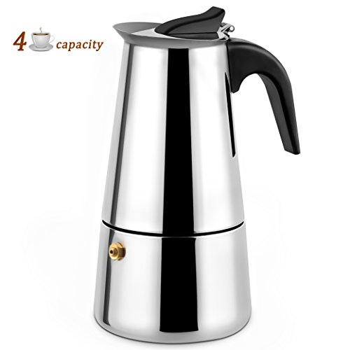 4 cup stovetop coffee maker - 6