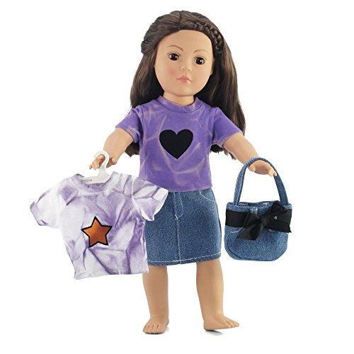 - Fits American Girl Dolls 18