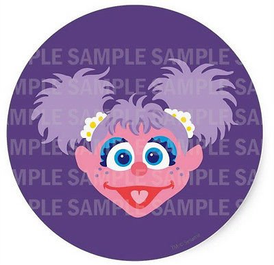 "SDore Sesame street abby Cadabby 8"" Round Edible Birthday for sale  Delivered anywhere in USA"