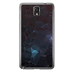 Loud Universe Samsung Galaxy Note 3 Geometrical Printing Files A Geo 4 Printed Transparent Edge Case - Multi Color