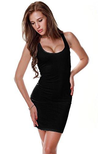 Black Tank Dress - 7