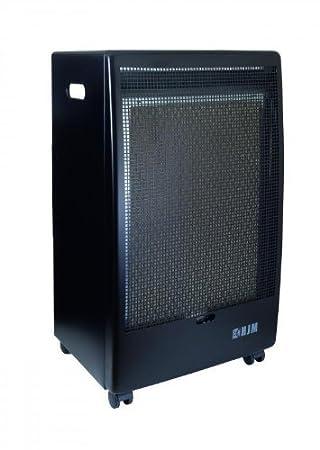 HJM EG-2800 Negro 2800W - Calefactor (Piso, Negro, 2800 W, 430 mm, 375 mm, 720 mm): Amazon.es: Hogar