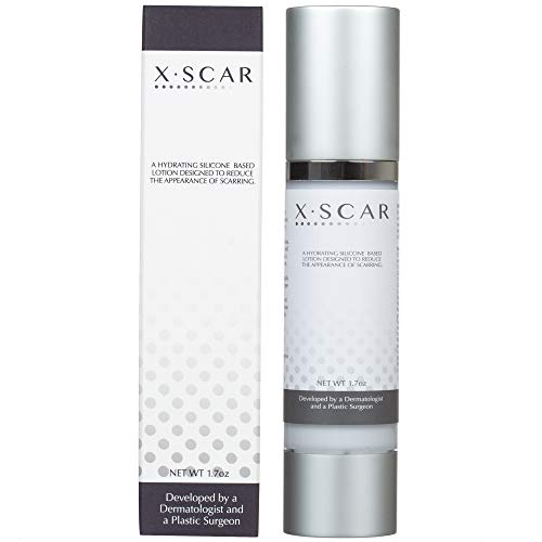 XScar Silicone Scar Treatment with Vitamin E | Developed by a Dermatologist and a Plastic Surgeon | Safe to use on all ages (Best Surgical Scar Treatment Cream)