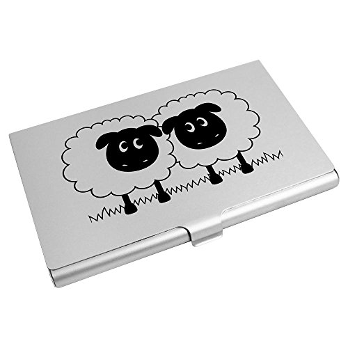 Sheep' Azeeda CH00008307 Card Card Business Credit 'Pair Holder Wallet Of 1rxwvnrqS