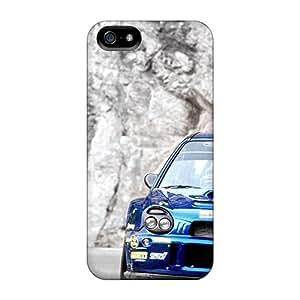 New Fashion Premium Tpu Case Cover For Iphone 5/5s - Subaru Impreza Wrc Wrx