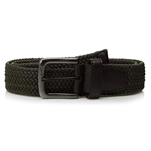 Nike Men's G-Flex Woven Stretch Belt, Cargo Khaki, Medium